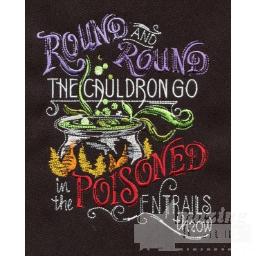 Poisoned Entrails Embroidery Design