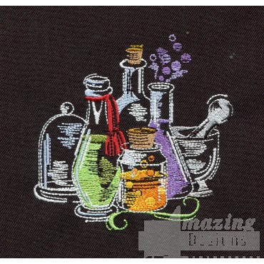 Potions Embroidery Design