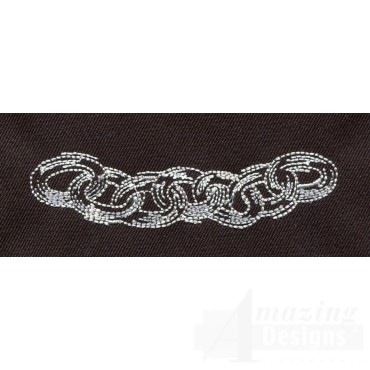 Chains Embroidery Design