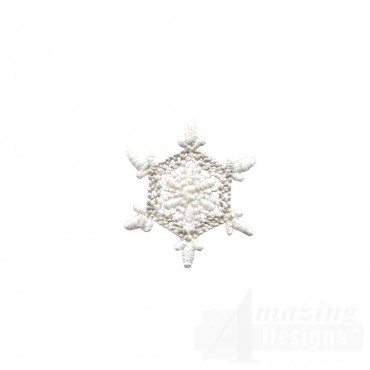 Crewel Snowflake 1 Embroidery Design