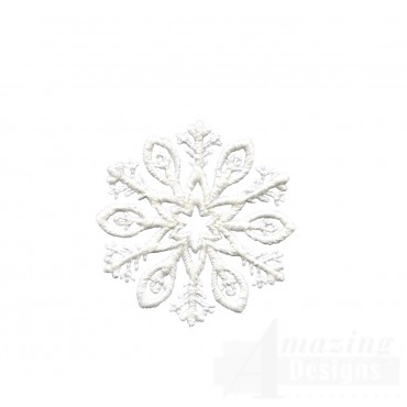 Crewel Snowflake 5 Embroidery Design