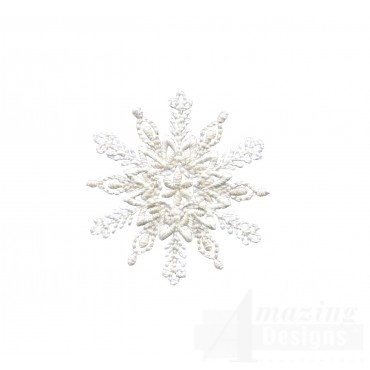 Crewel Snowflake 6 Embroidery Design