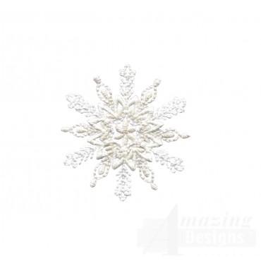 Crewel Snowflake 6 Embroidery Design