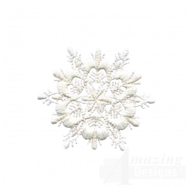 Crewel Snowflake 7 Embroidery Design