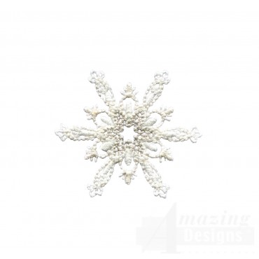 Crewel Snowflake 9 Embroidery Design