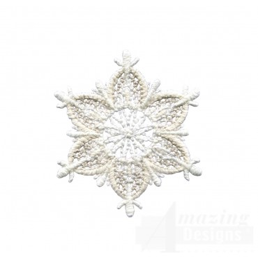 Crewel Snowflake 11 Embroidery Design