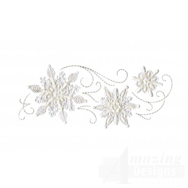 Crewel Snowflake Group 10 Embroidery Design