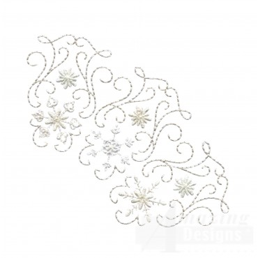 Crewel Snowflake Group 13 Embroidery Design