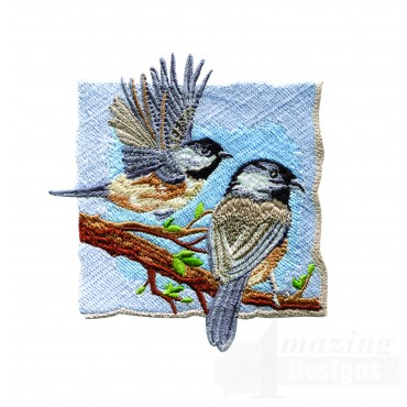 Black-capped Chickadees 2