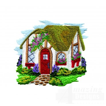 Charming Cottages Swnct104 Embroidery Design