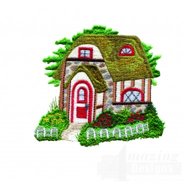 Charming Cottages Swnct109 Embroidery Design