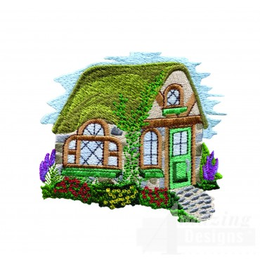 Charming Cottages Swnct116 Embroidery Design
