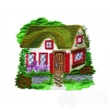 Charming Cottages Swnct119 Embroidery Design