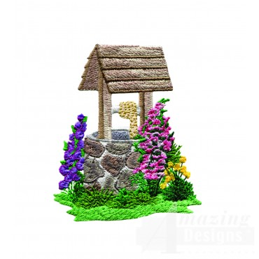 Charming Cottages Swnct128 Embroidery Design