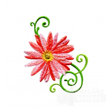 Delightful Daisy Swndsy110 Embroidery Design