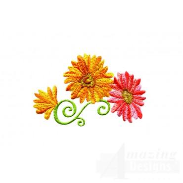 Delightful Daisy Swndsy112 Embroidery Design