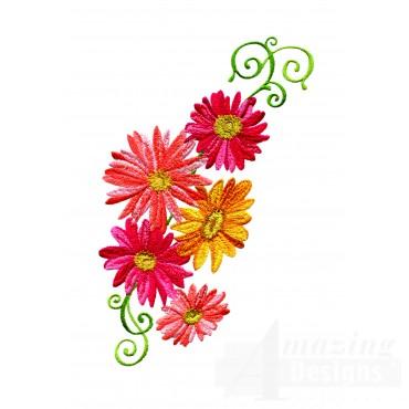 Delightful Daisy Swndsy113 Embroidery Design