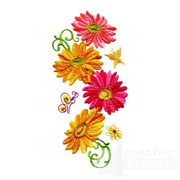 Delightful Daisy Swndsy114 Embroidery Design