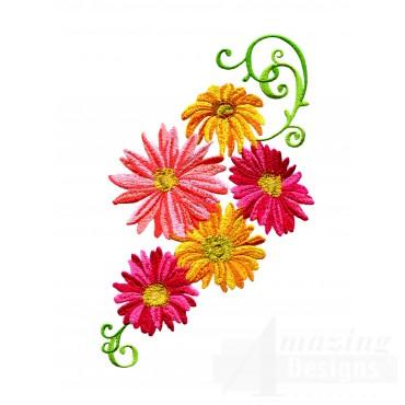 Delightful Daisy Swndsy116 Embroidery Design