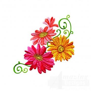 Delightful Daisy Swndsy118 Embroidery Design