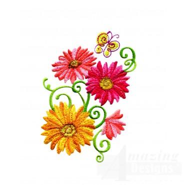 Delightful Daisy Swndsy126 Embroidery Design