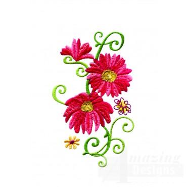 Delightful Daisy Swndsy127 Embroidery Design