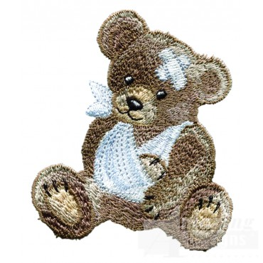 Swnbear113 Patient Bear Embroidery Design