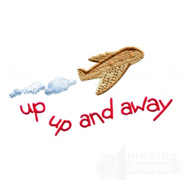 Swnbear139 Up Up And Away Embroidery Design