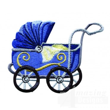 Swnbear141 Baby Carriage Embroidery Design