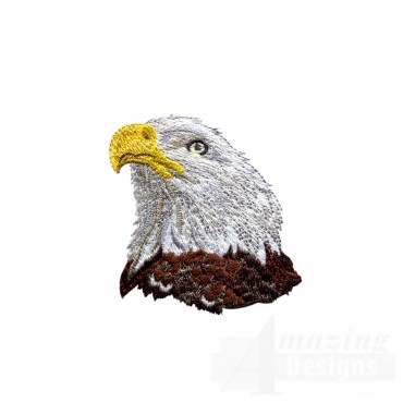 Bald Eagle Head 1 Embroidery Design