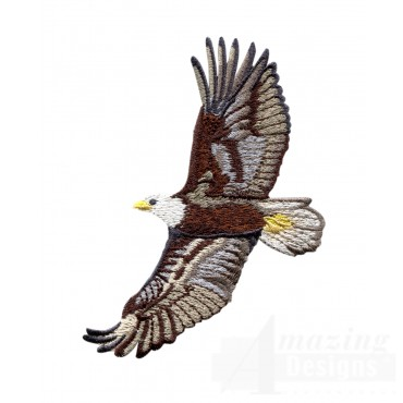 Flying Eagle 2 Embroidery Design