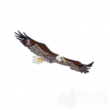 Flying Eagle 8 Embroidery Design