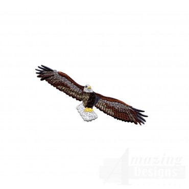 Flying Eagle 9 Embroidery Design