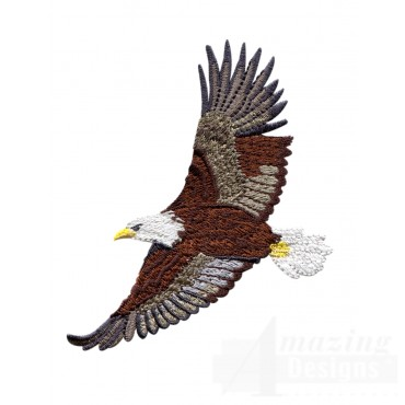 Flying Eagle 12 Embroidery Design