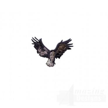 Eagle Silhouette 1 Embroidery Design