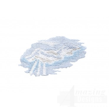 Clouds 1 Embroidery Design