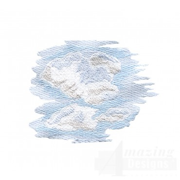 Clouds 2 Embroidery Design