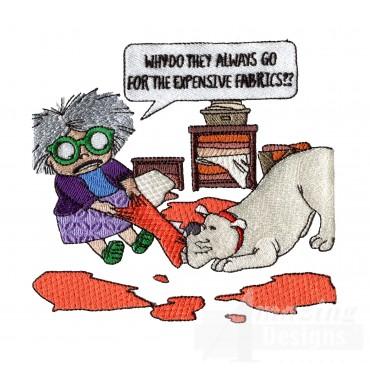 Fabric Destruction