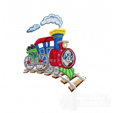 Choo Choo Train 1 Embroidery Design