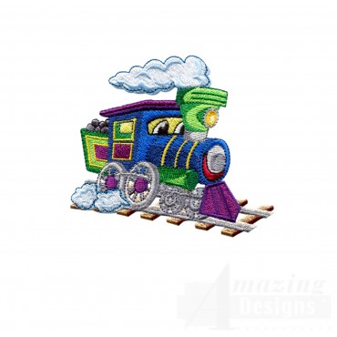 Choo Choo Train 5 Embroidery Design