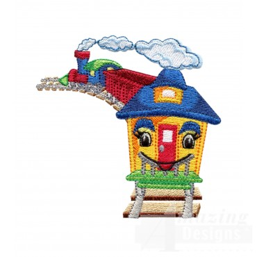 Caboose 1 Embroidery Design