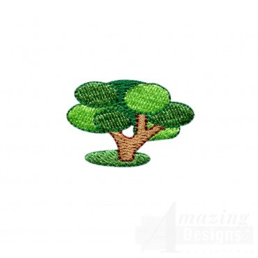 Tree 1 Embroidery Design