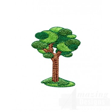 Tree 2 Embroidery Design