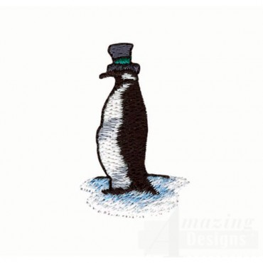 Penquin in Top Hat