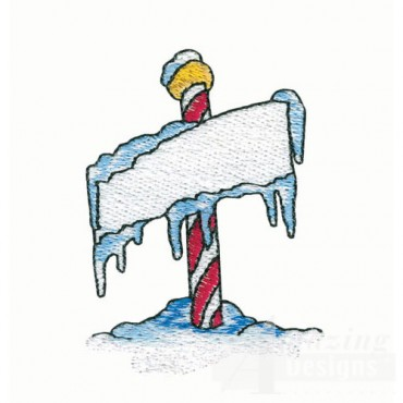 Arctic Pole Sign