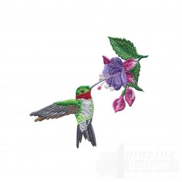 Swnhe102 Hummingbird Enchantment Embroidery Design