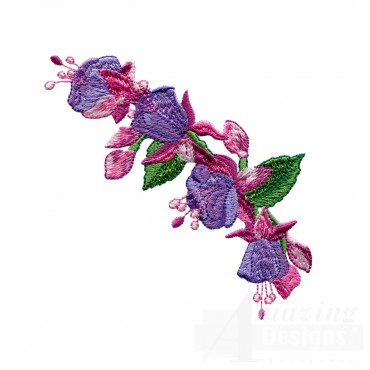 Swnhe115 Hummingbird Enchantment Embroidery Design