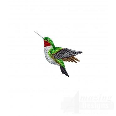 Swnhe118 Hummingbird Enchantment Embroidery Design