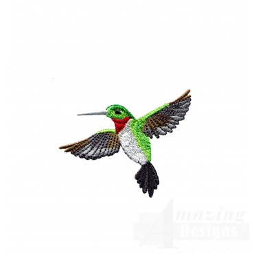 Swnhe119 Hummingbird Enchantment Embroidery Design