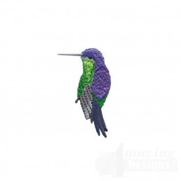 Swnhe136 Hummingbird Enchantment Embroidery Design